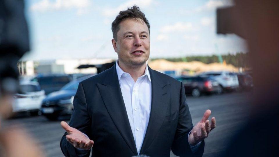 Tesla's billionaire founder Elon Musk.
