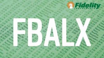 Composite image representing Fidelity's FBALX fund