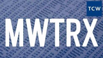 Composite image representing Metropolitan West's MWTRX fund