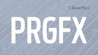 Composite image representing T. Rowe Price's PRGFX fund