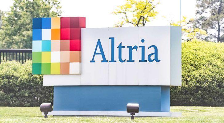 a sign with the Altria (MO) logo